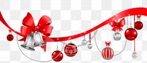 Transparent Christmas Decoration Clipart - Christmas Decoration Christmas Ornament Clip Art PNG