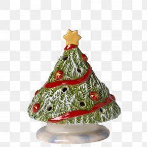Christmas Tree Ceramic Pottery Bisque Porcelain Tinsel Png