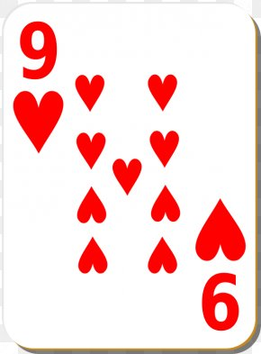 Deck Cliparts - Playing Card Ace Of Hearts Suit Clip Art PNG