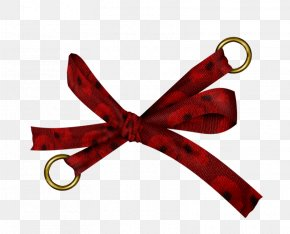 Red Bow Pattern - Blog Clip Art PNG