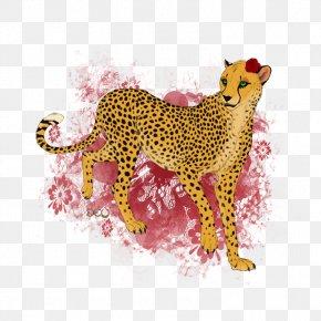 Tunnel - Cheetah Leopard Jaguar Cat Tiger PNG