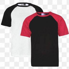 T-shirt - T-shirt Raglan Sleeve Jersey Hier Und Jetzt PNG
