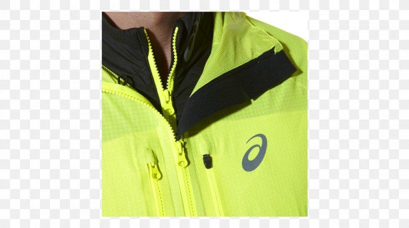 Asics Running Jacket Herren Laufjacke Gelb Asics Running Jacket ...