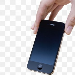 Holding An Apple Phone - IPhone 6 Plus Feature Phone Smartphone Apple PNG