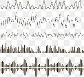 Vector Sound Wave Curve Picture - Sound Acoustic Wave Euclidean Vector PNG