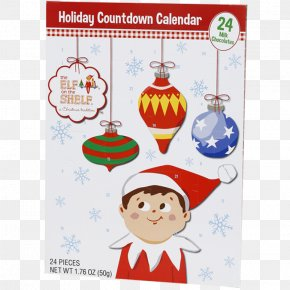 Santa Claus - The Elf On The Shelf Santa Claus Candy Cane Christmas Ornament North Pole PNG