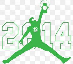 Michael Jordan - Jumpman Air Jordan Logo Nike Shoe PNG