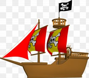Gemini - Piracy Jolly Roger Ship Maritime Transport Clip Art PNG