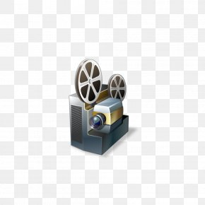 Projector - Movie Projector Film Icon PNG