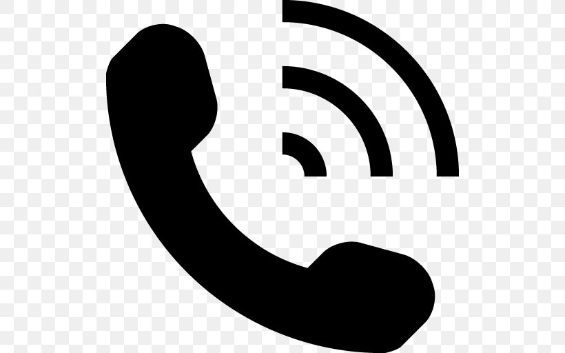 Telephone Symbol Icon, PNG, 512x512px, Iphone, Black And White, Brand, Bullet, Dial Up Internet Access Download Free