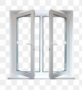 Opened Windows - Window Blind Aluminium Carpenter Door PNG
