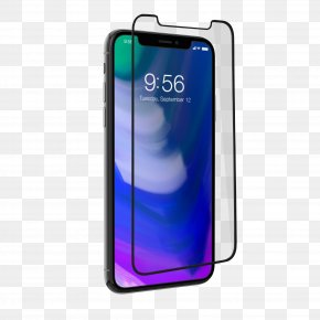 Iphone X - IPhone X IPhone 8 Screen Protectors Zagg Telephone PNG