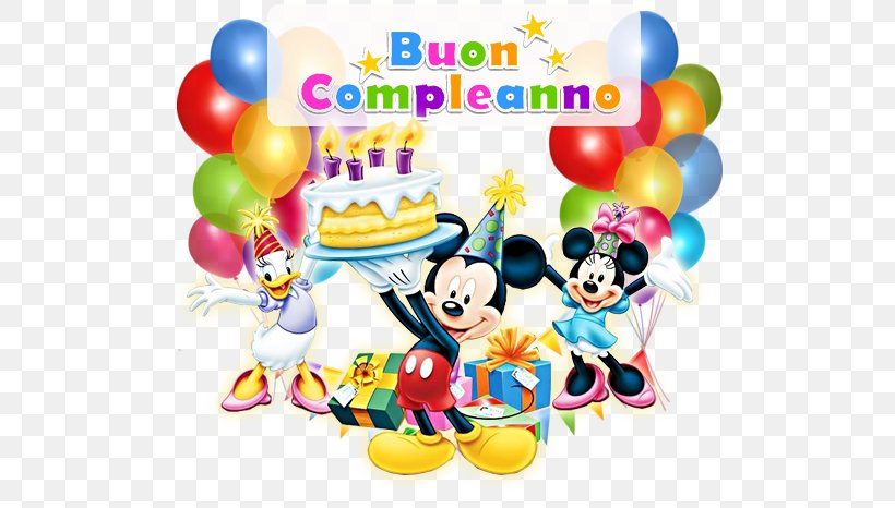 Birthday Mickey Mouse Party Child Desktop Wallpaper, PNG