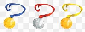 Medals Set Clipart - Product Font Design PNG