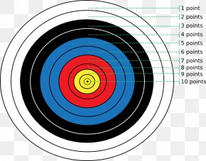 Archery Cliparts - Target Archery Shooting Target Bow And Arrow Clip Art PNG