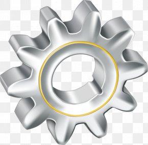Silver Gear - Gear Silver Euclidean Vector Gratis PNG