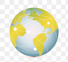 Logo Interior Design - Globe World Earth Yellow Planet PNG
