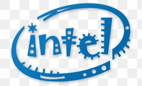 Intel - Intel Logo Typeface Central Processing Unit Font PNG