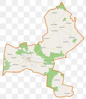 Map - Rokosowo, Greater Poland Voivodeship Zawada, Gostyń County Drzewce, Gostyń County Grodzisko, Gostyń County Kopanie, Greater Poland Voivodeship PNG