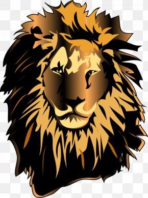 Lion - White Lion Roar Clip Art PNG