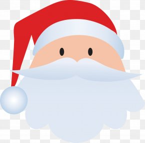 Vector Santa Claus Avatar - Santa Claus Christmas Clip Art PNG