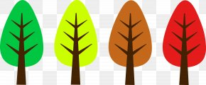 Cute Nature Cliparts - Tree Autumn Clip Art PNG