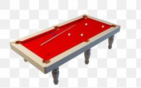 Red Desktop Billiard Table Transparent Material - Billiard Table English Billiards PNG