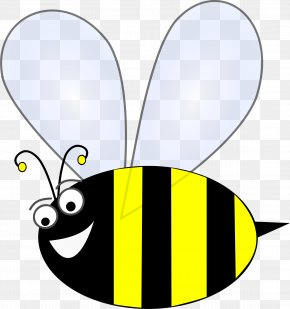 Bumble Bee - Honey Bee Insect Clip Art PNG