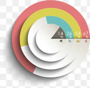 PPT Template,PPT Table - Pie Chart Infographic Diagram PNG