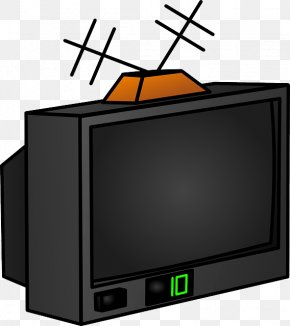 Old TV Cliparts - Television Free-to-air Clip Art PNG