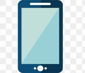 Flat Mobile Phone Vector Material - Feature Phone Smartphone Mobile Phone Accessories Cellular Network PNG