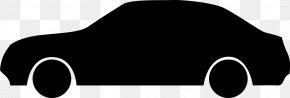 Car Outline - Black Car Automotive Design PNG
