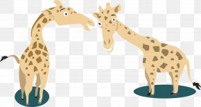 Giraffe Cartoon Vector - Giraffe Cartoon PNG