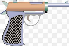 Battlefield Pistol - Weapon Trigger Pistol Clip Art PNG