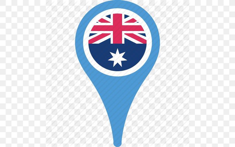 Flag Of Australia Flag Of Australia National Flag Icon, PNG, 512x512px, Australia, Blue, Brand, Electric Blue, Flag Download Free