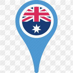 Map Coordinates - Flag Of Australia Flag Of Australia National Flag Icon PNG