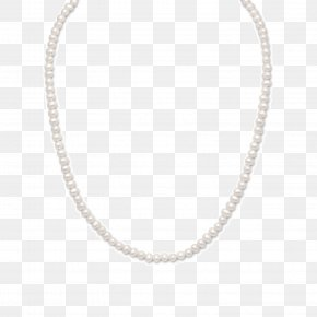 Necklace - Necklace Jewellery Pearl Chain Diamond PNG