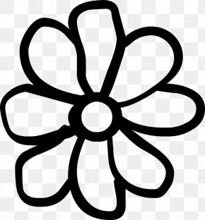 Drawing Flower - Flower Drawing Clip Art PNG