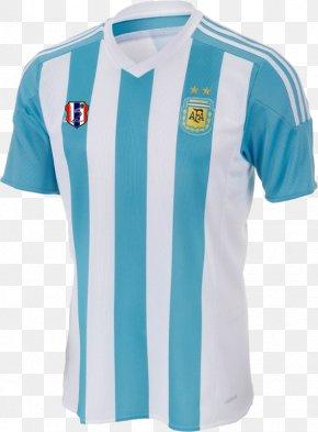T-shirt - T-shirt Argentina National Football Team ADIDAS ARGENTINA SA Jersey PNG