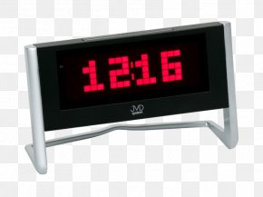 Digital Alarm Clock - Alarm Clocks Quartz Clock Time Radio Broadcasting PNG