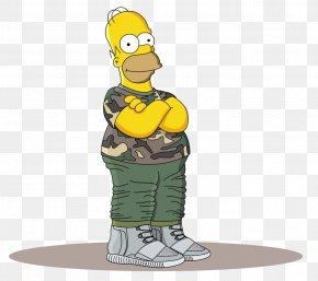 Bart Simpson - Homer Simpson Bart Simpson Lisa Simpson Marge Simpson Adidas Yeezy PNG