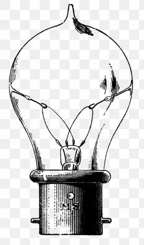 Light Bulb - Incandescent Light Bulb Electric Light Drawing Clip Art PNG