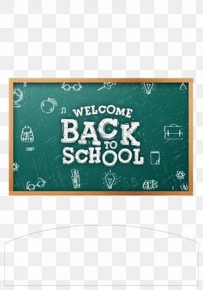 Blackboard School - Poster Logo Blackboard PNG
