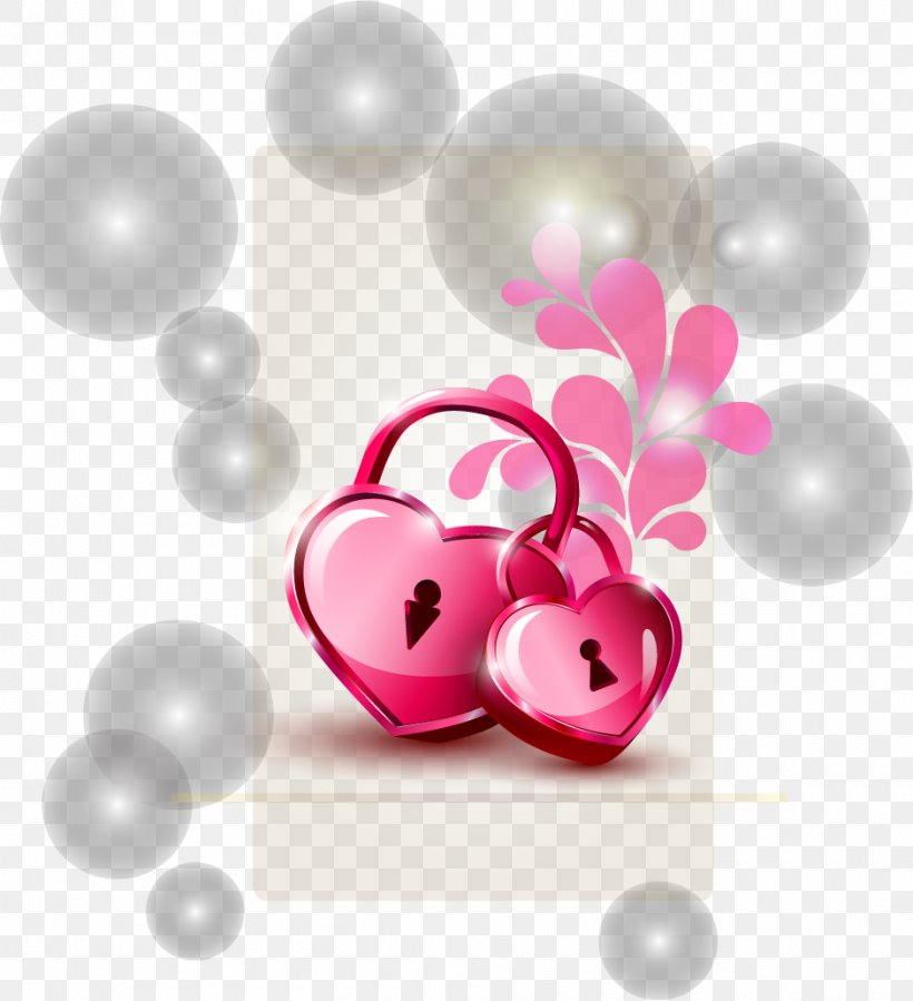 Valentine's Day Heart Illustration, PNG, 940x1031px, Valentine S Day, Balloon, Body Jewelry, Heart, Magenta Download Free