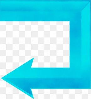 Electric Blue Rectangle - Blue Aqua Turquoise Teal Azure PNG