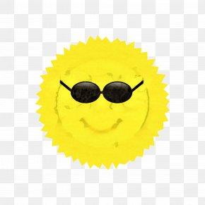 Glasses Smile - Summer Sun PNG