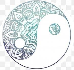 Design - Yin And Yang Drawing Art Design Image PNG