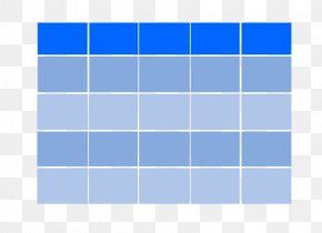 Rectangle Azure Electric Blue PNG