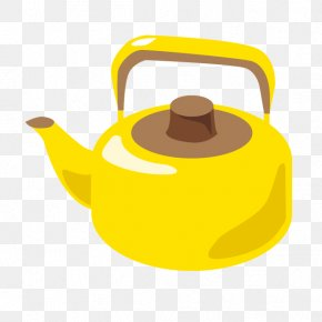 Cartoon Cooking Kettle - Kettle Teapot Boiling Simmering PNG