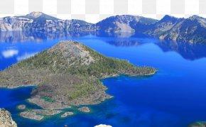 Crater Lake - Crater Lake Baekdu Mountain Mount Scenery Volcano PNG